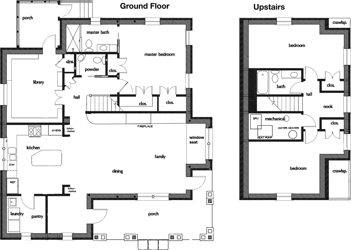 upstairs living house plans arts