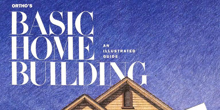 "Cover of ""Basic Home Building"" book"