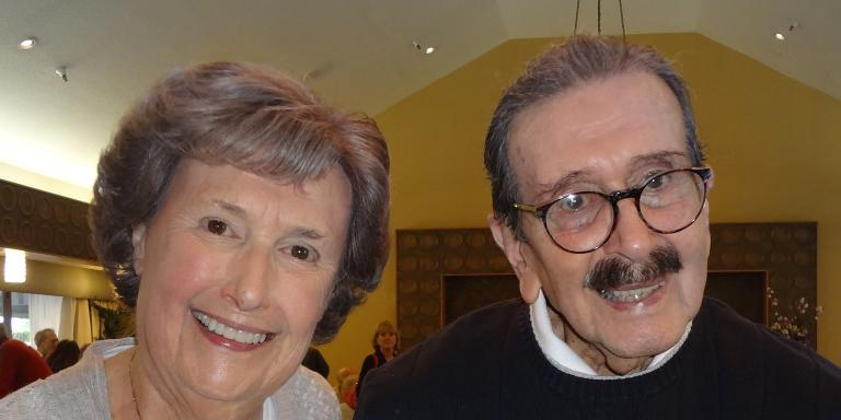 Dee and Tony Ponce in March 2014