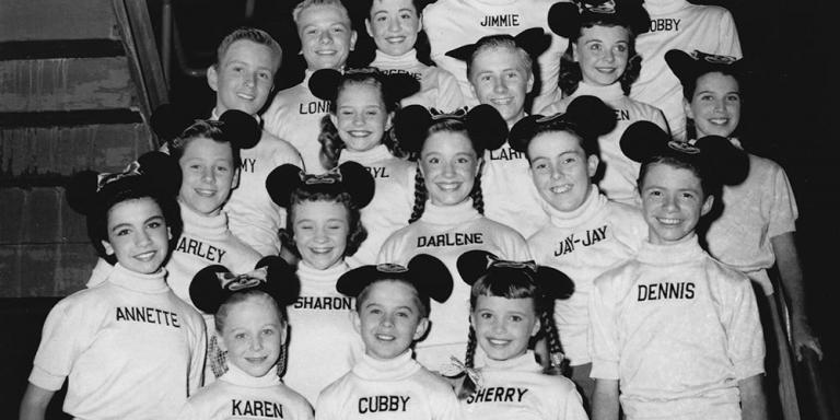 Members of the Mickey Mouse Club, circa 1956