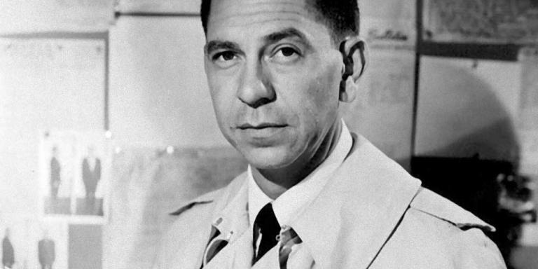 Sergeant Joe Friday, from the Dragnet TV show