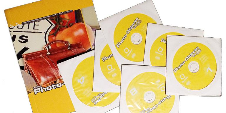 The catalog and CDs from Hemera Photo-Objects